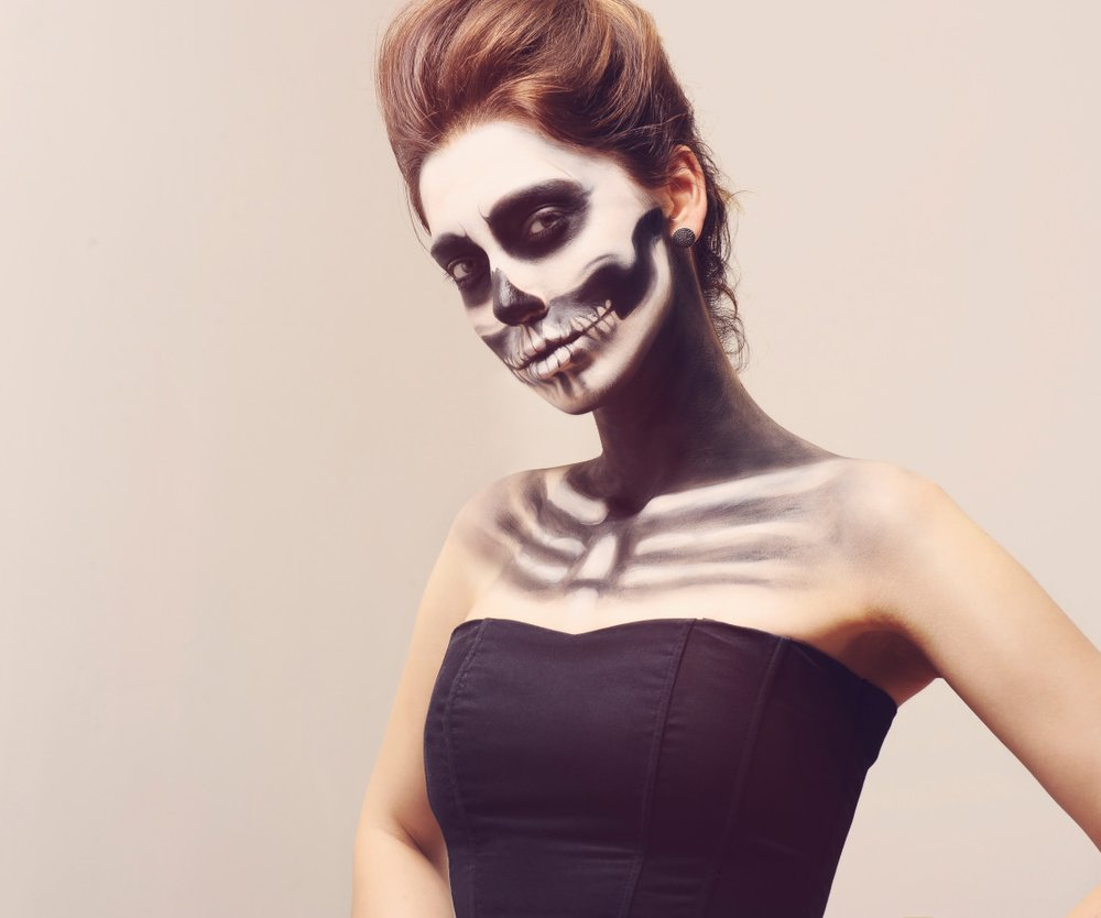 Einfaches Halloween Make up