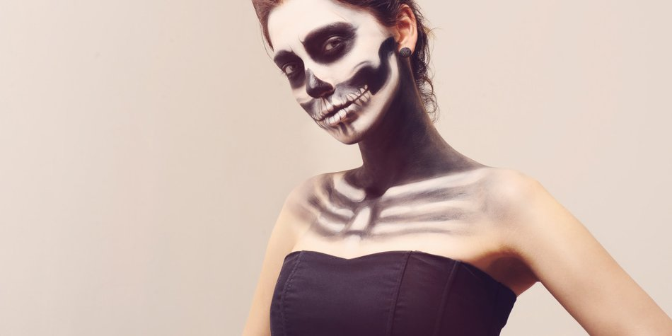 Einfaches Halloween-Make-up: 3 tolle Ideen
