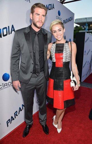 Miley Cyrus hat Liam Hemsworth gedatet