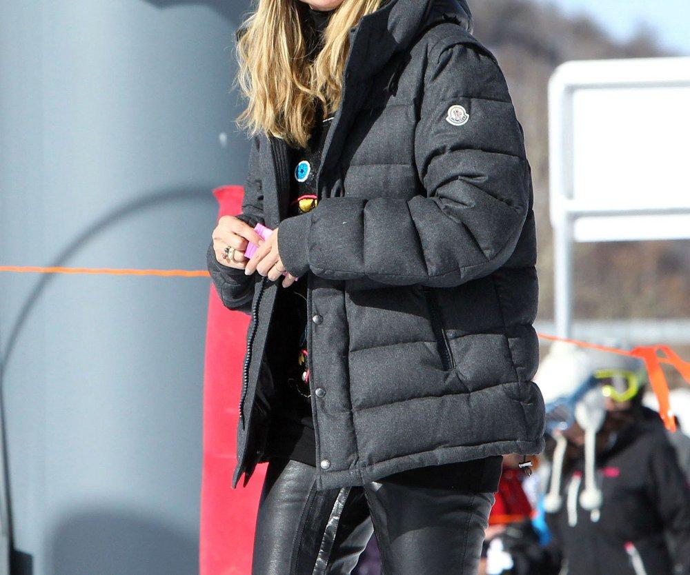 Heidi Klum macht Winterurlaub