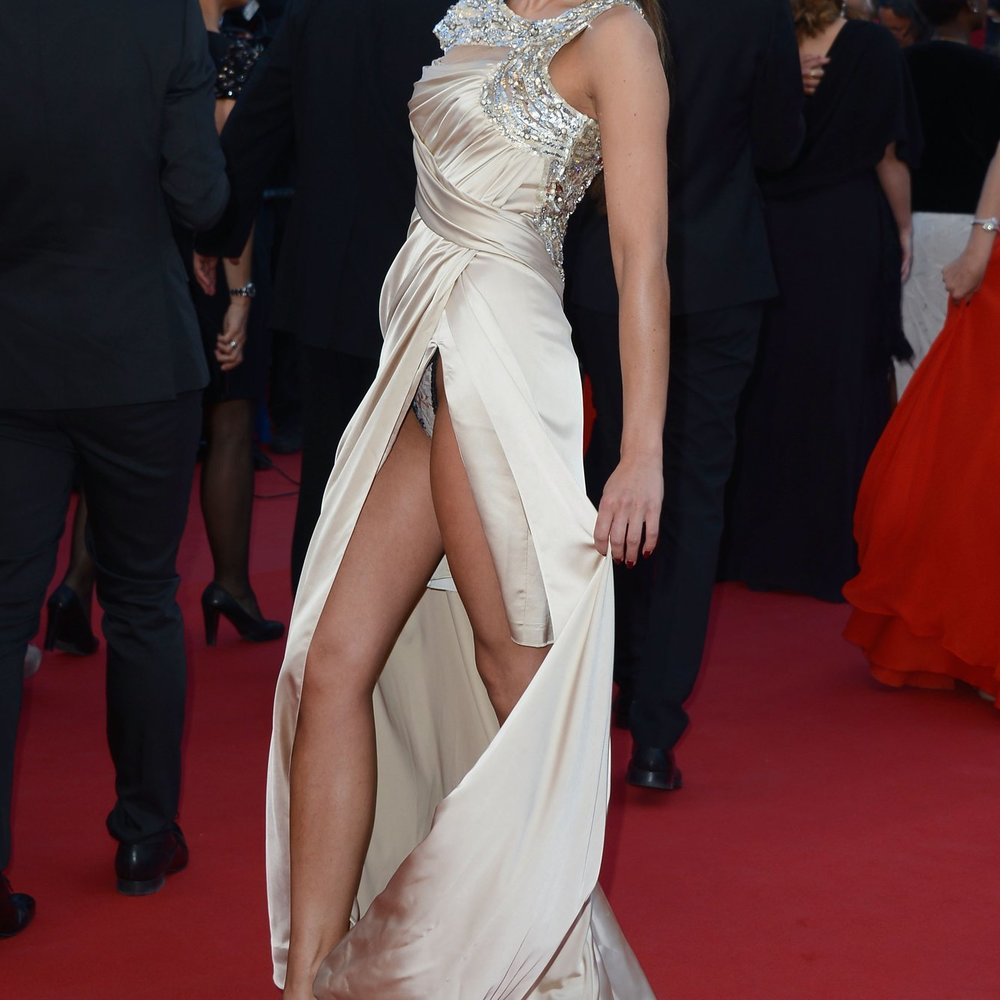 Liliana Matthäus: Peinlicher Slip-Blitzer in Cannes