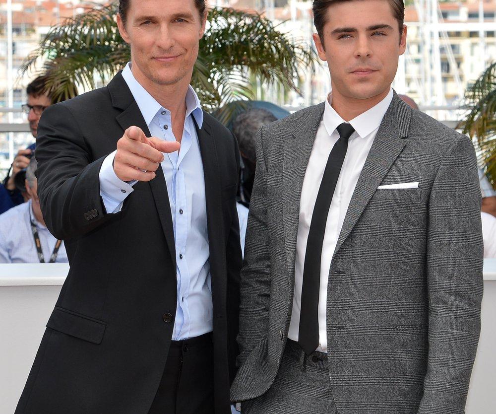 Zac Efron bekam Unterstützung von Matthew McConaughey