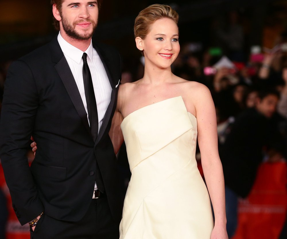 Liam Hemsworth scherzt über Jennifer Lawrence
