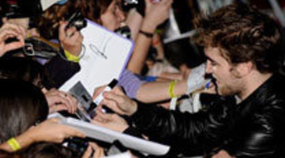 Robert Pattinson ganz bescheiden
