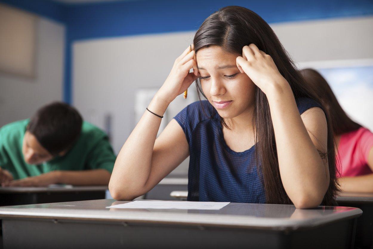 Keine Panik! Wer sich selbst zu viel Druck macht, wird die Prüfungsangst nicht los.