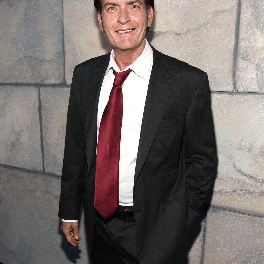 Charlie Sheen und Denise Richards machen auf Happy Family