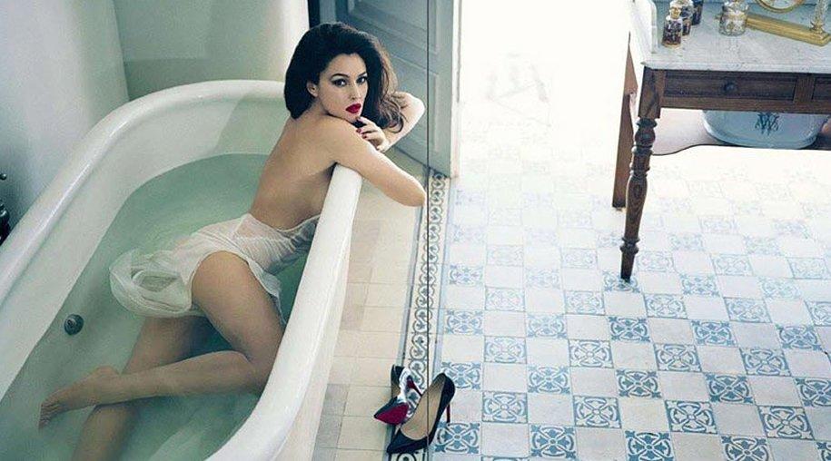 """Monica Bellucci in der spanischen """"Vanity Fair"""""""