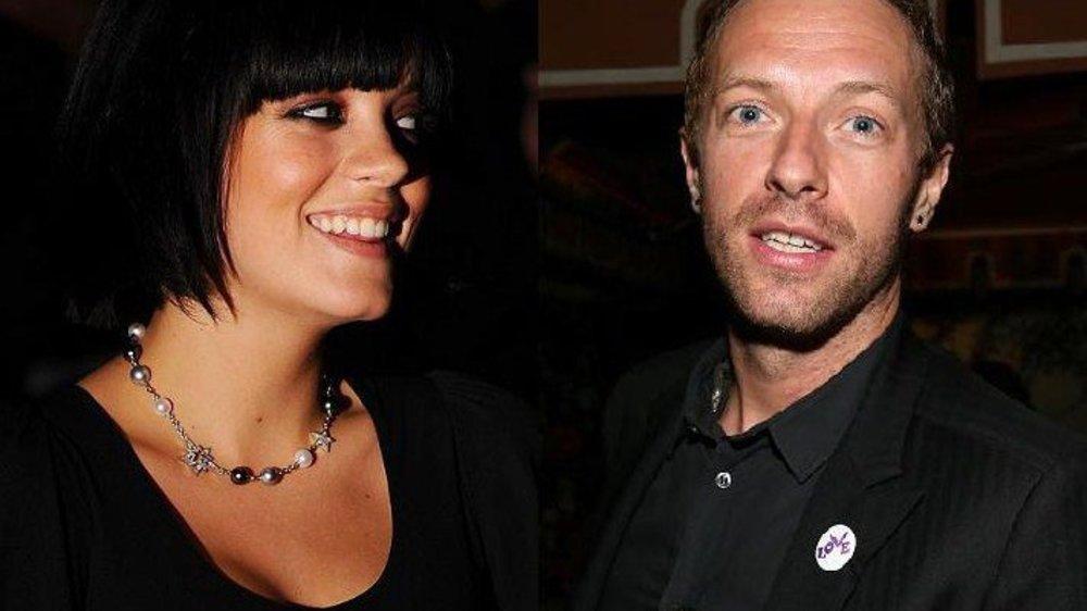 Chris Martin holt sich Liebestipps bei Lilly Allen