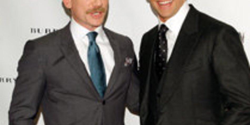 Daniel Craig und Hugh Jackman am Broadway