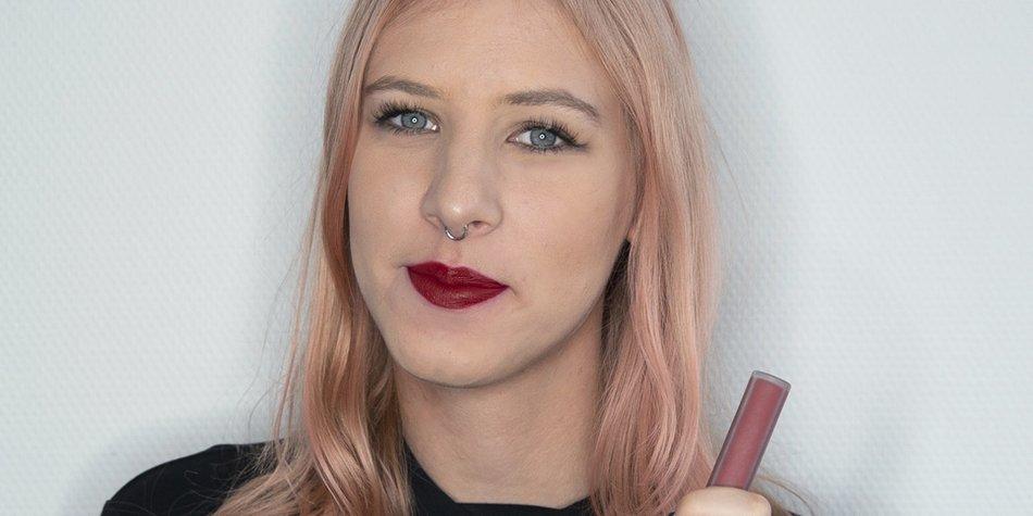 Lippenstifte langanhaltend