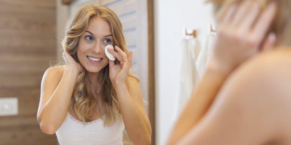 Schöne Haut dank der Make-up Diät