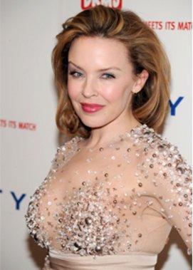 Kylie Minogue beim GNTM Finale