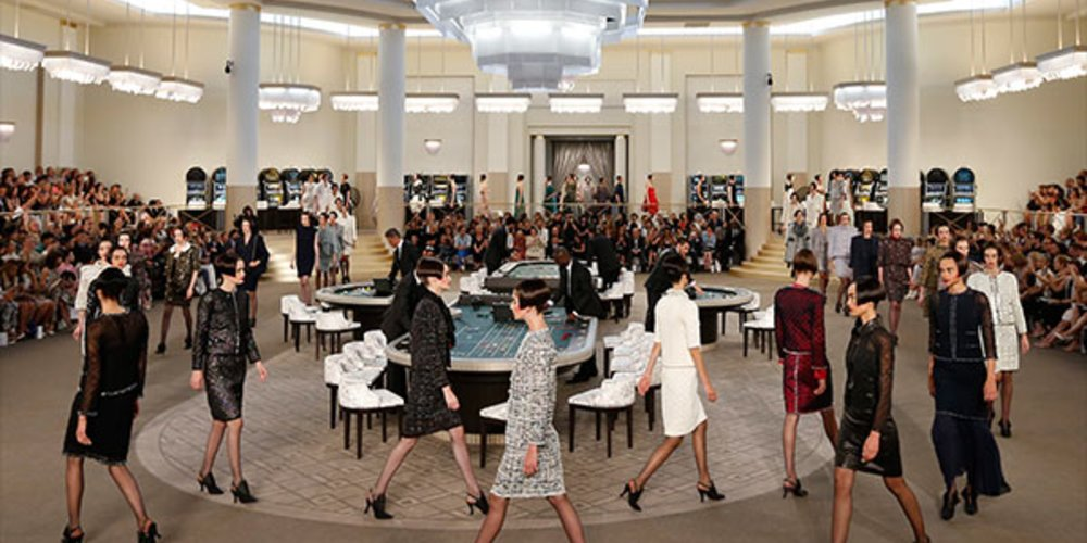 Chanel Haute Couture Fall Show 2015