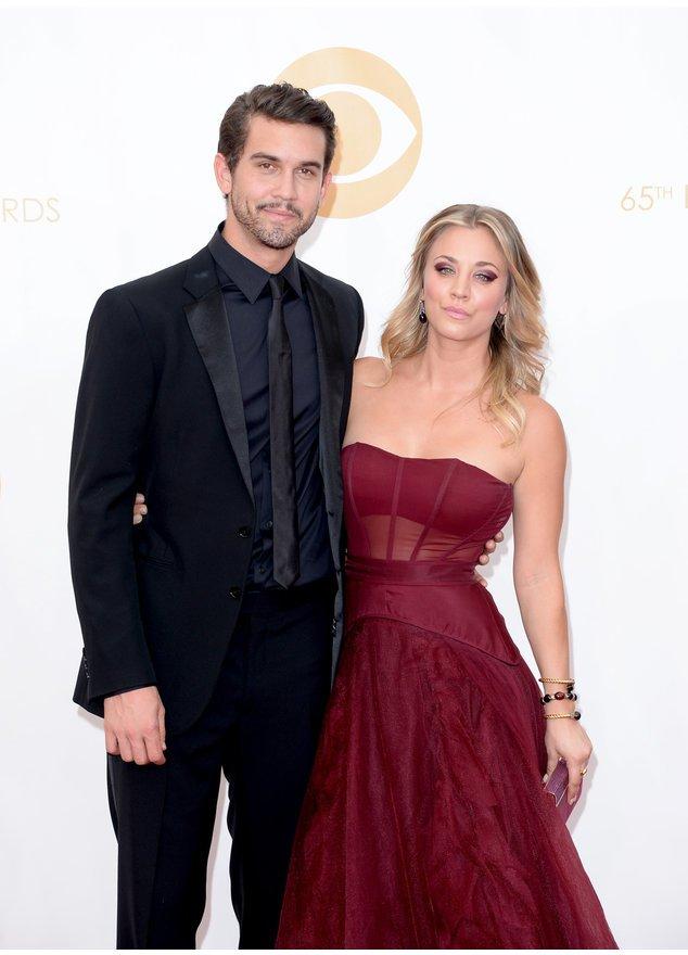 Kaley Cuoco und Ryan Sweeting  bei den Emmys 2013