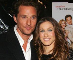 Sarah Jessica Parker und Matthew McConaughey im TV