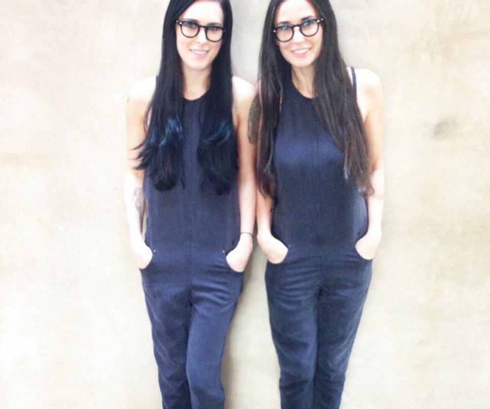 Demi Moore und Rumer Willis machen einen auf Zwillinge