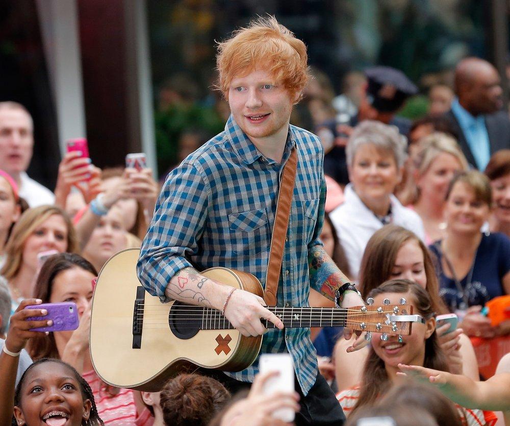 Ed Sheeran braucht eine Pause