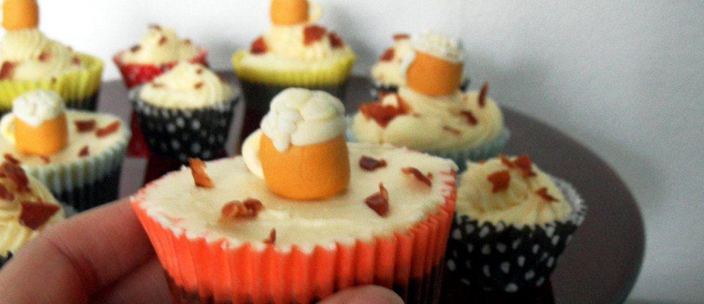 Vatertag Cupcakes für echte Kerle