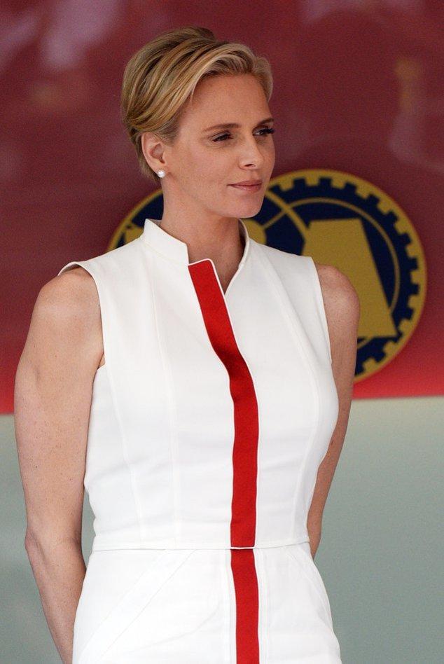 Charlène von Monaco bei einem Auftritt