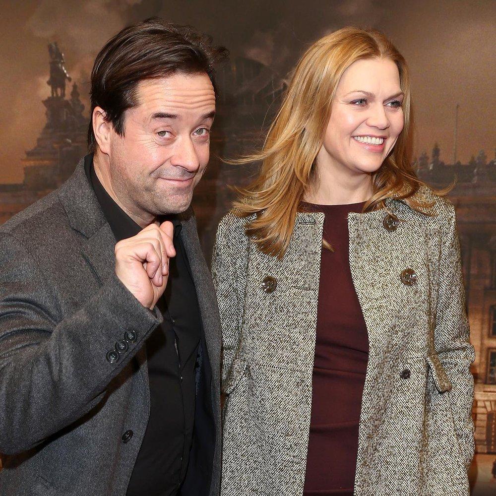 Anna Loos und Jan Josef Liefers zusammen vor der Kamera