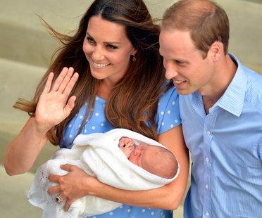 William und Kate im Glück