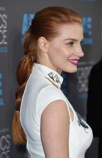 Jessica Chastain: Eleganter Braid