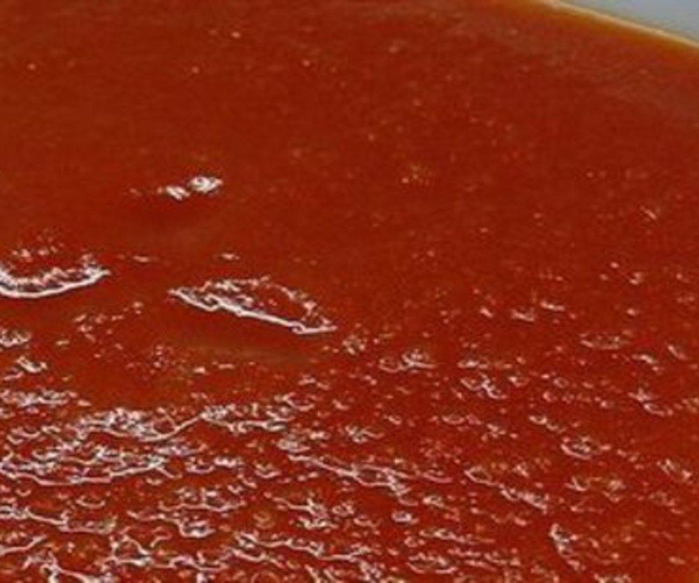 Tomaten-Tabasco-Suppe