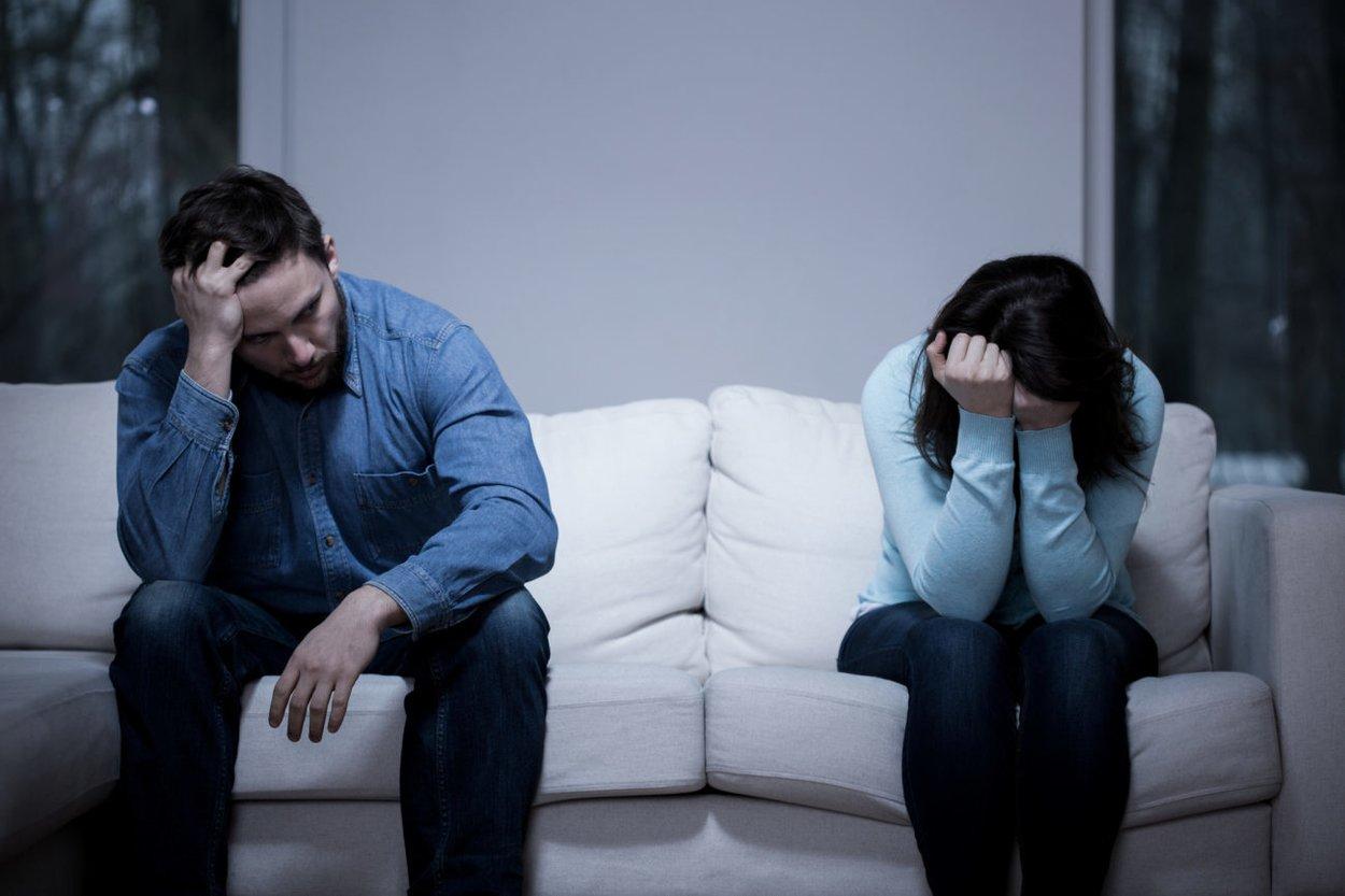 Trennung Mann und Frau
