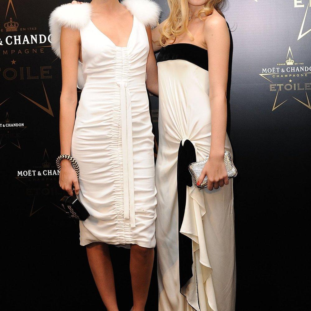 Cara Delevingne und Georgia May Jagger verärgern Louis Vuitton