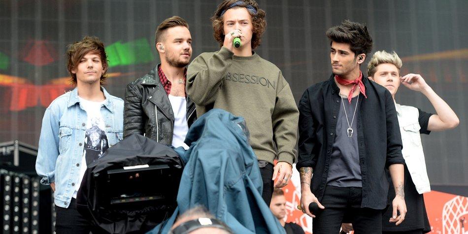 One Direction: Werden die Jungs jetzt Serienstars?