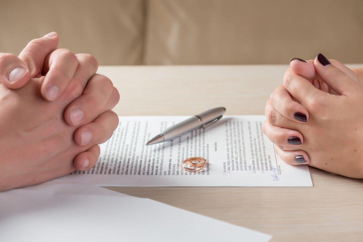 Unterschrift Scheidung