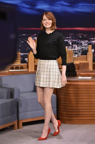 Emma Stone in der Jimmy Fallon Show