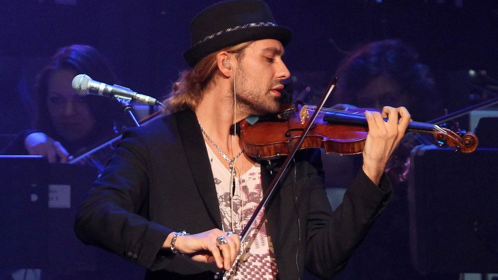 David Garrett bald im Kino?