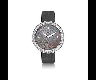 Louis Vuitton Uhr Perlmutt