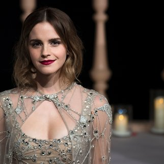 Actress Emma Watson arrives for the Asian premiere of the Disney Movie The Beauty and The Beast in Shanghai on February 27, 2017. / AFP / Johannes EISELE (Photo credit should read JOHANNES EISELE/AFP/Getty Images)