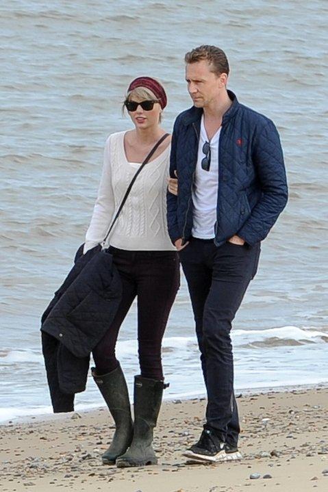 Tom Hiddleston mit Freundin Taylor Swift in 2016