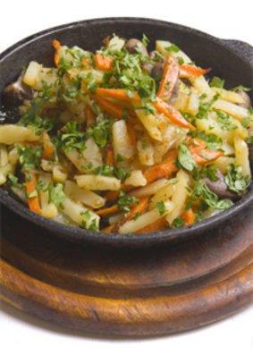 Diät Rezepte: Gemüsepfanne mit Hähnchen