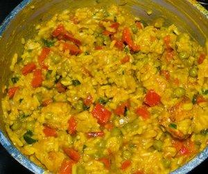Curry Reispfanne