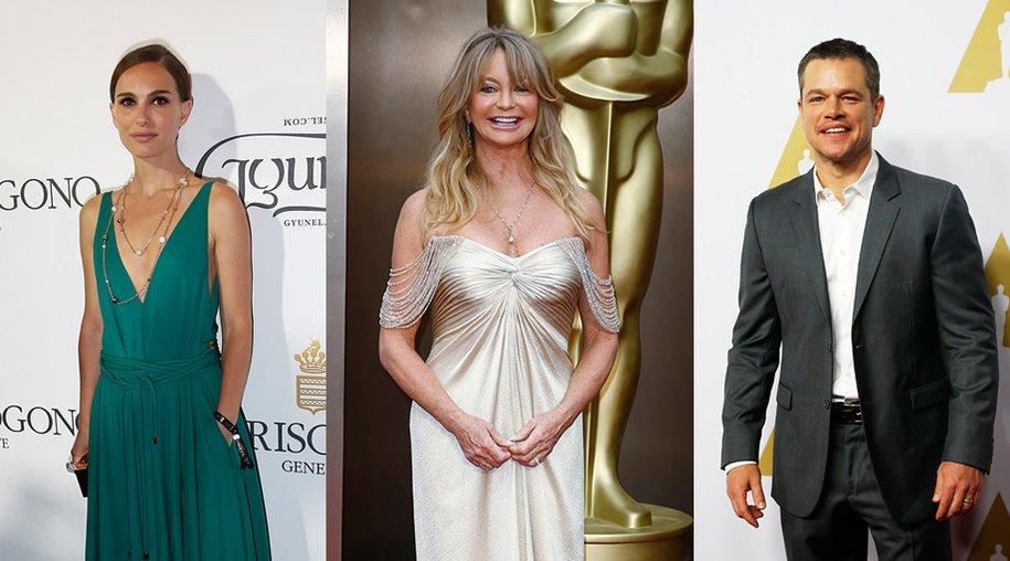 Natalie Portman, Goldie Hawn, Matt Damon