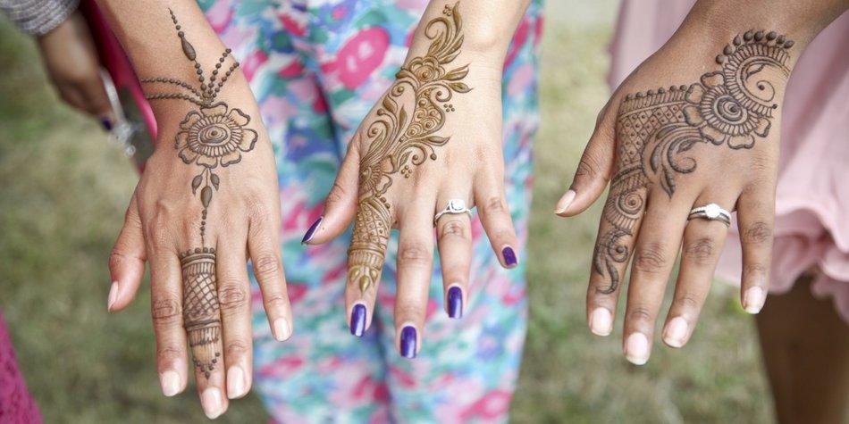 Henna-Tattoo selber machen