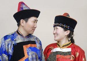 Mongolischer Hochzeitsbrauch
