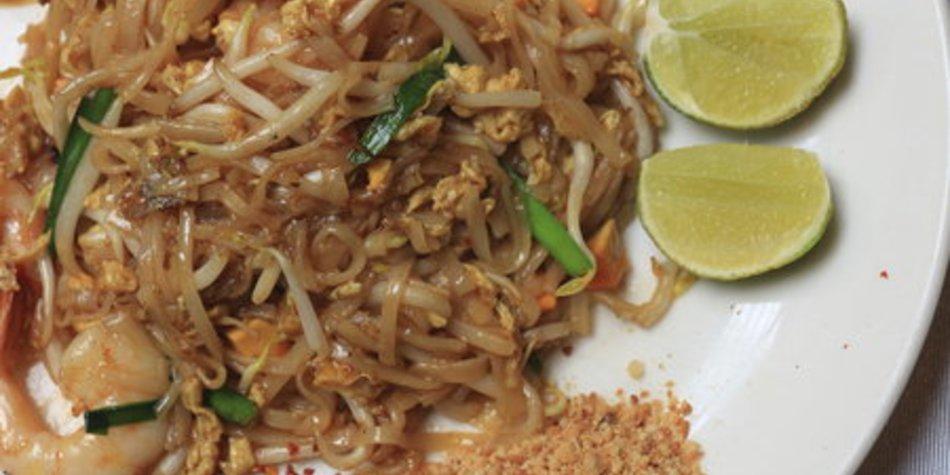 Gebratene Nudeln Thai