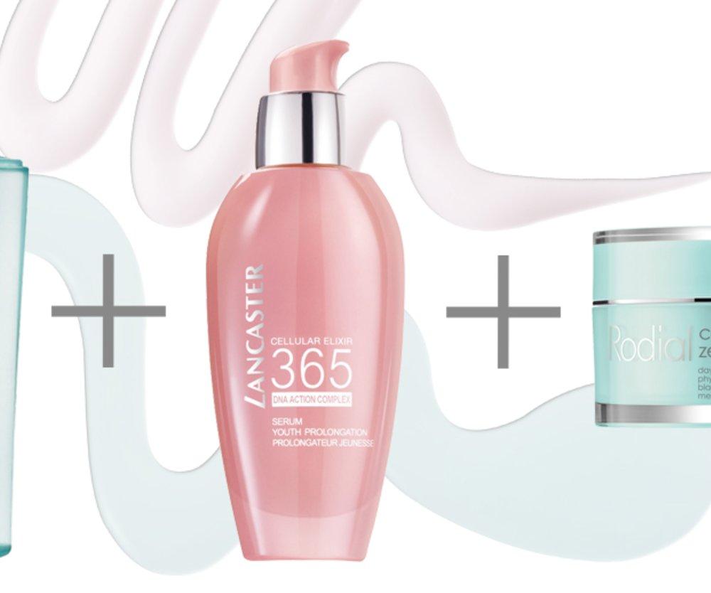 Kosmetik-Layering