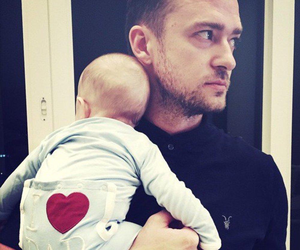 Justin Timberlake feiert den Vatertag
