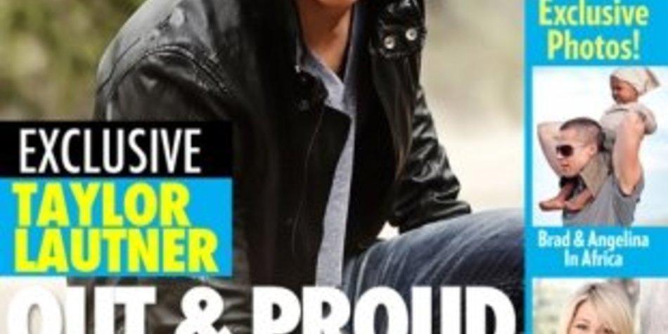 Taylor Lautner ist nicht schwul