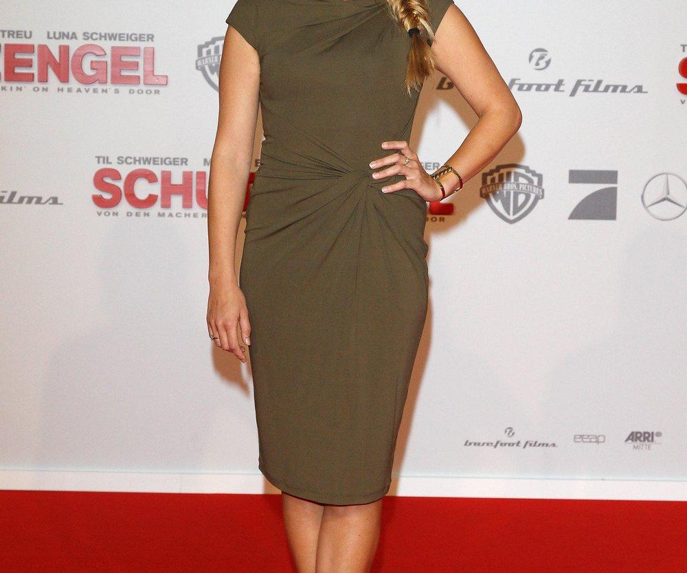 Nina Eichinger ist mit ihrem Gewicht unzufrieden