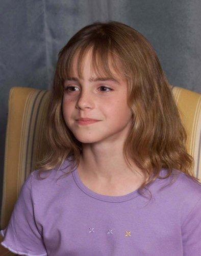 Emma Watson mit 11 Jahren