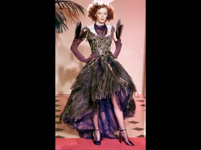 Karen Elson für Gaultier