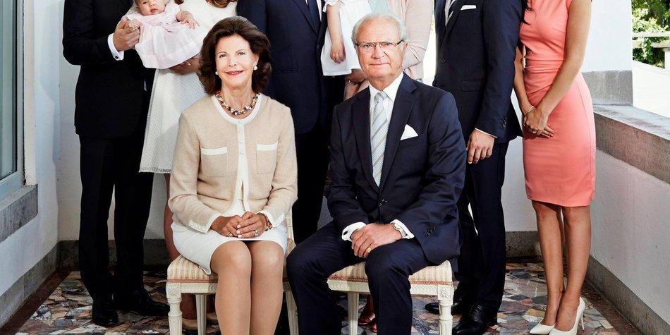 Prinzessin Madeleine und ihre Familie wünschen ein frohes neues Jah