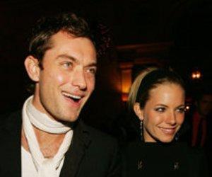 Jude Law und Sienna Miller im Liebesglück